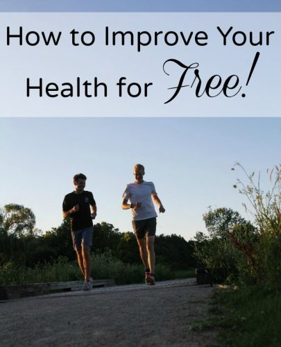 How to Improve Your Health for Free!