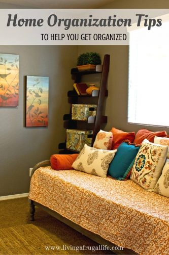 Home Organization Tips To Help You Get Organized