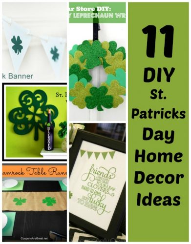 11 DIY St. Patrick's Day Decorations For Your Home