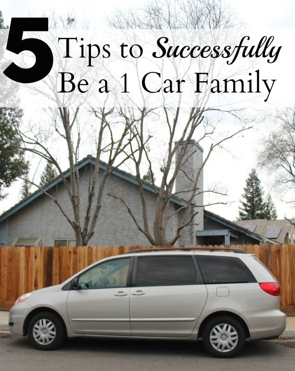How to be a one car family
