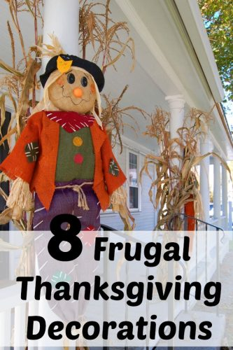 8 Frugal Thanksgiving Decorations to Make At Home